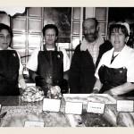Teté, Belén, Andres y Elena en Pola de Siero
