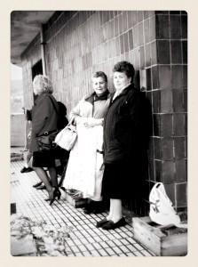 La Chucha en la rula de Llastres, a principios de los años 80